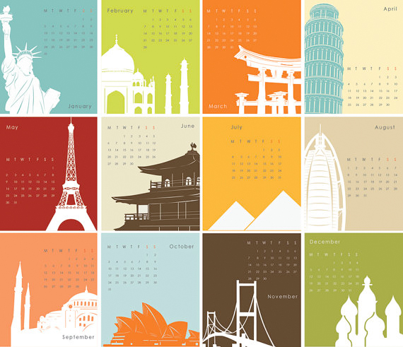 Architecture Calendars3