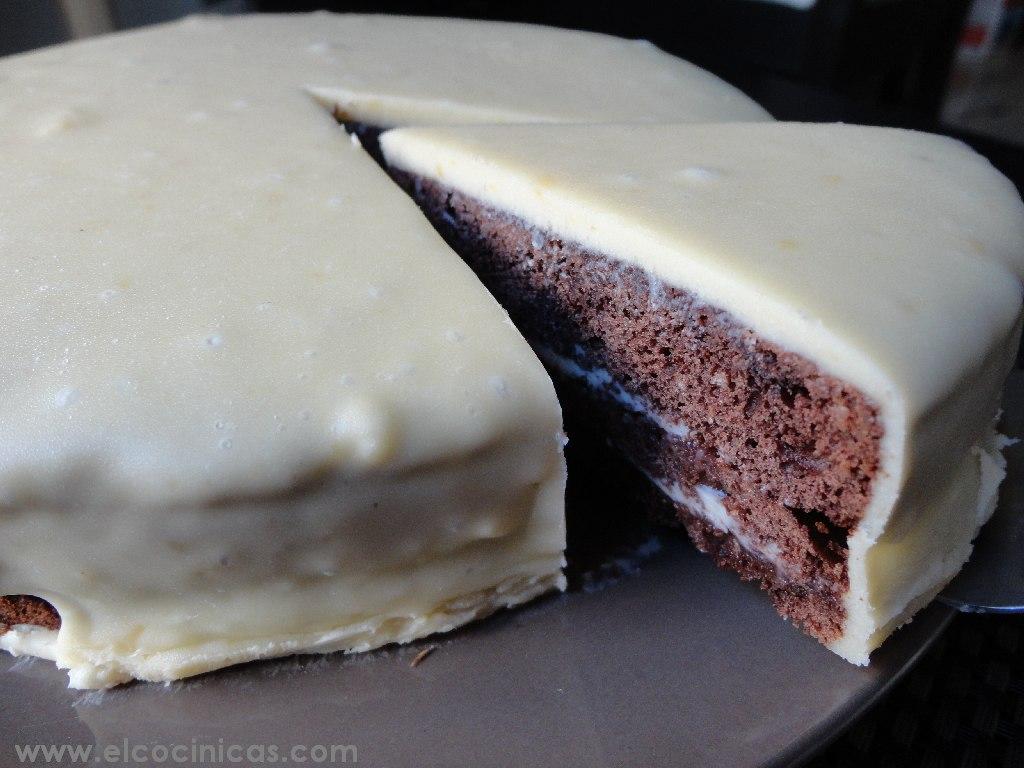 Baño Chocolate Blanco Para Tortas:para bañar tartas, diferentes a la clásica ganaché de chocolate