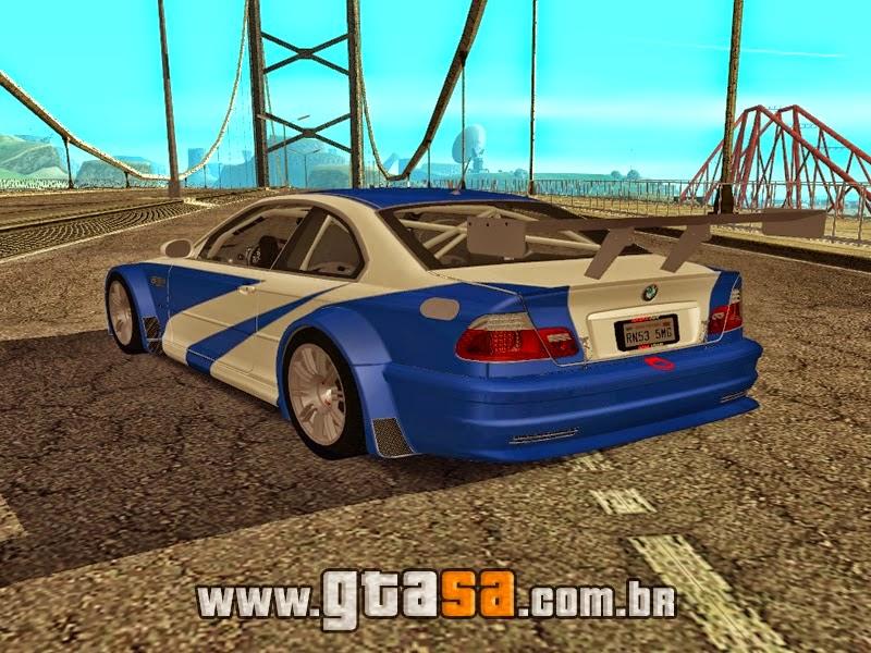 SA - BMW M3 GTR E46 2004