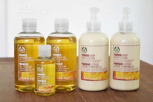 The Body Shop Mango Shower Gel Whip Body Lotion