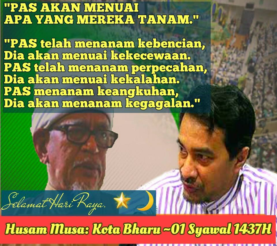 "LET US REBUILD D NATION WITH HARAPAN ( PH) IN D GE 14 BY HIS GRACE ! ""  ALLA HU AKBAR ! """