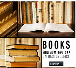 Flipkart: Buy Books minimum 50% off, Books Flat Rs. 59 or Rs. 99 or Rs. 75 or Rs. 149