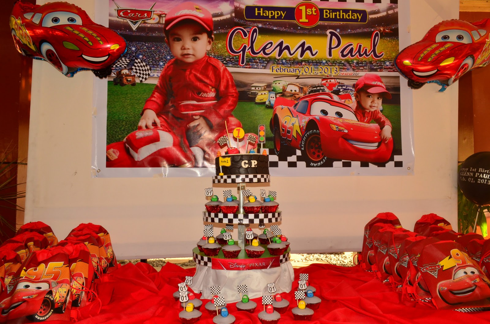 Confessions Of A Happy Mom Car Theme 1st Birthday Of Gp