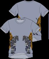 design kaos distro- Warrior