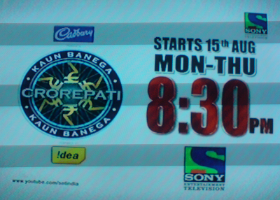 Kaun Banega Crorepati Season 5 on Sony Entertainment Television