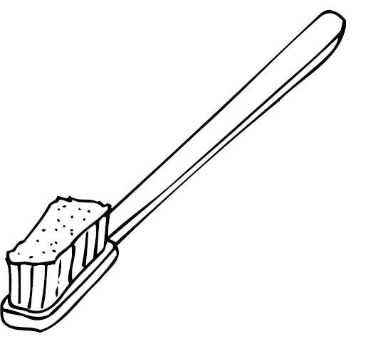 Blog Professor Zezinho : Desenhos de Escovas de Dentes