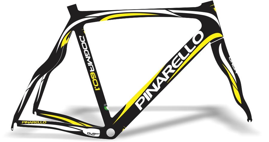 Armario Capsula Masculino ~ Stickers Design Adesivo bike Pinarello Dogma Most