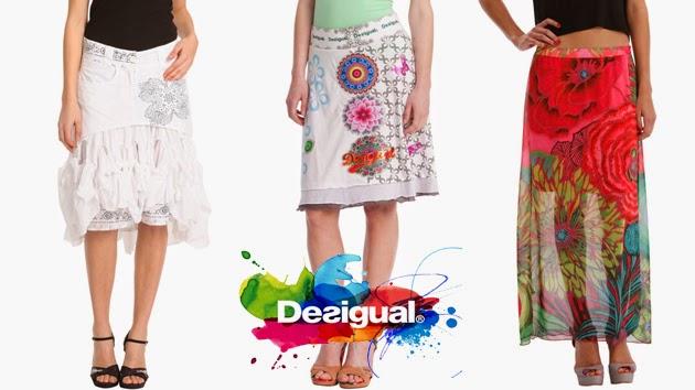Moda El Para Zaz Faldas 2014 Verano Desigual waqBUCw