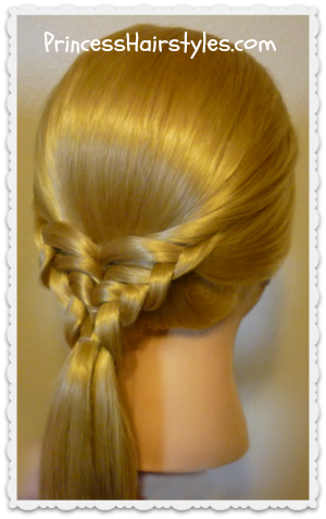Waffle Cone #Hairstyle Video Tutorial