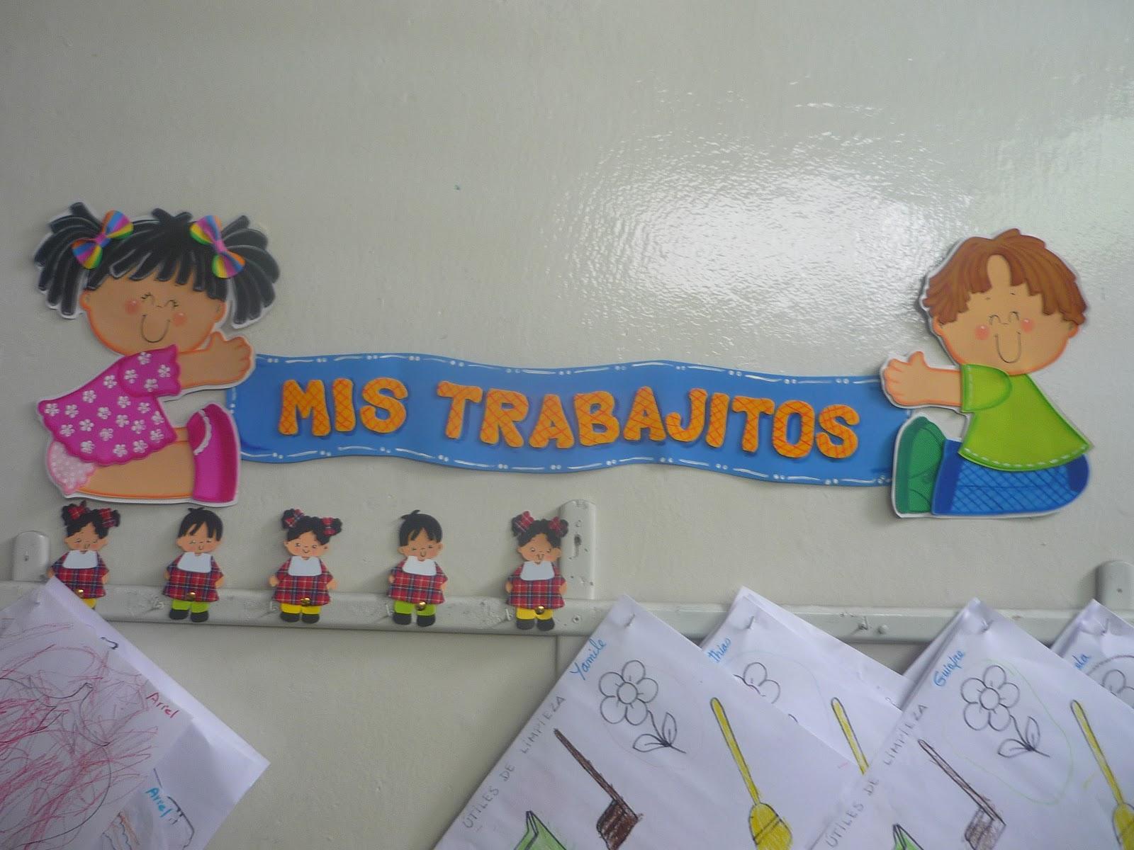 Recursos para educaci n inicial carteles de ambientaci n for Actividades para el salon