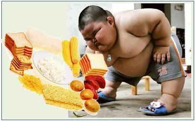 Gb. Makanan Yang Mengandung Karbohidrat Tinggi Sebagai Penyebab Kegemukan