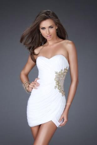 16813 La Femme Dresses