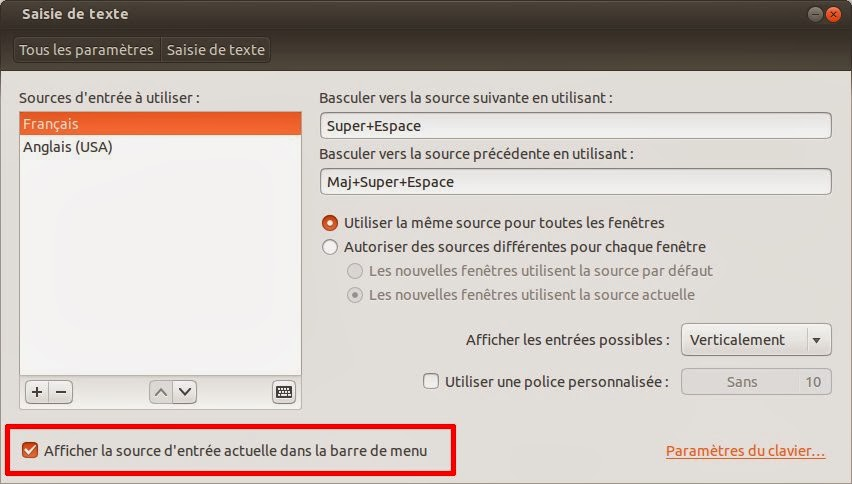 Ubuntu comment enlever l 39 indicator d for Ouvre la fenetre translation