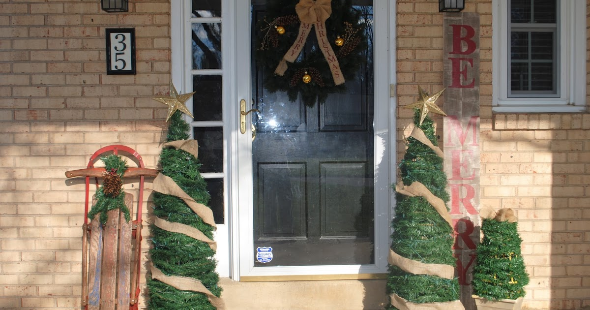 Two It Yourself Large Diy Outdoor Christmas Trees From