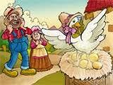 La gallina de los huevos de oro Fabula de Esopo, fabulas con moraleja