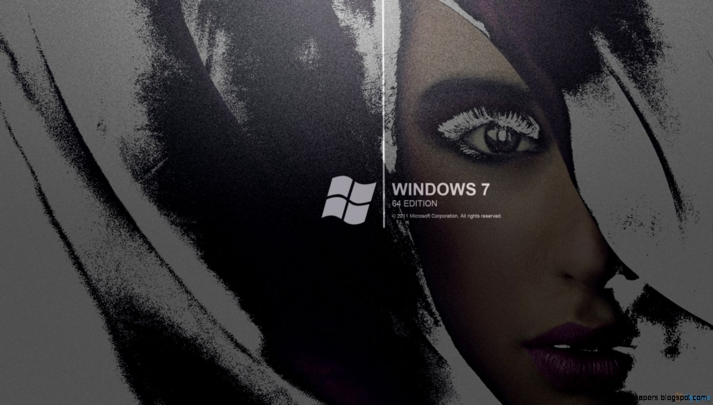 Windows 7 Black And White 6974591