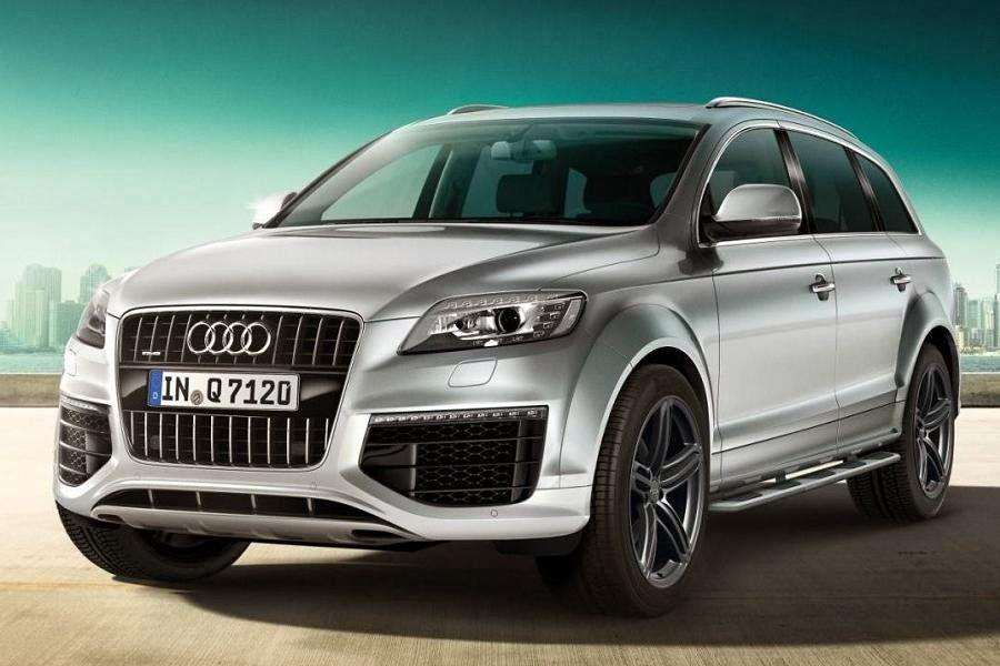 Audi Q7 S Line Sport Edition (2014) Front Side