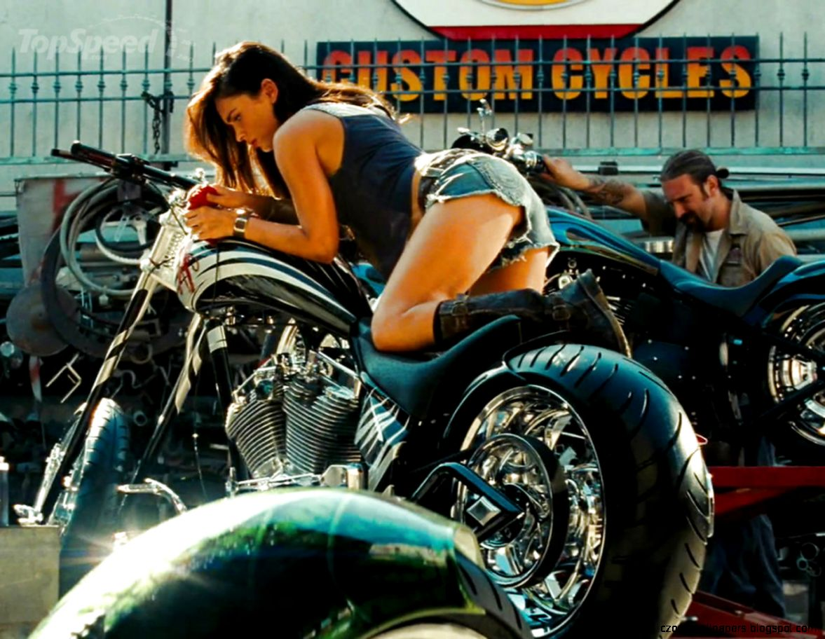 Megan Fox Transformers Motorcycle