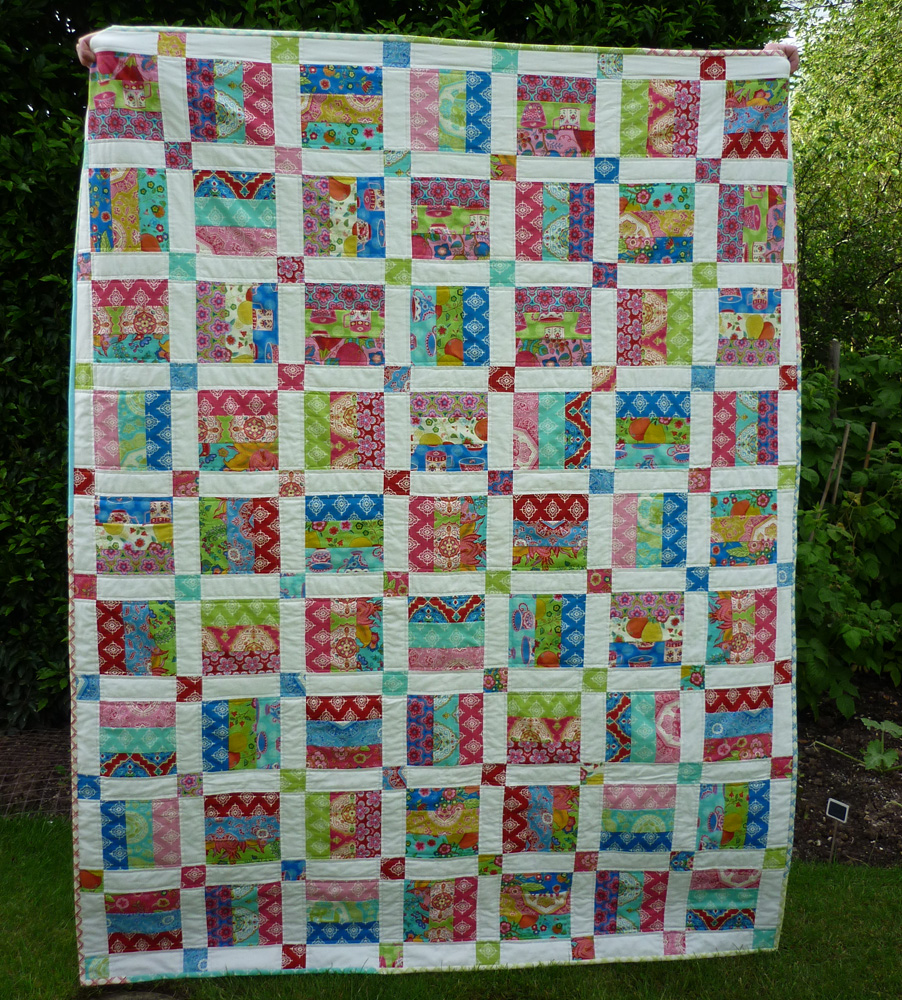 Mack And Mabel Easy Newbie Quilt Pattern For Jelly Roll Strips