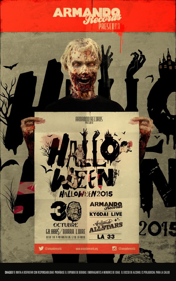 Halloween-La-33-vivo-All-Stars-Kyodai-Armando-Records