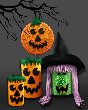 Halloween Yarn Crafts Easy Halloween Craft For 2 Year Old