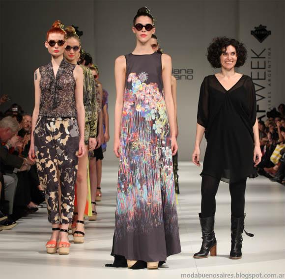 Mariana Dappiano primavera verano 2013. Blog de moda argentina.