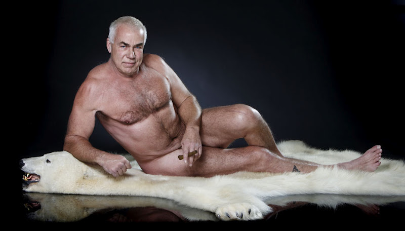 Naked Old Gay Grandpa