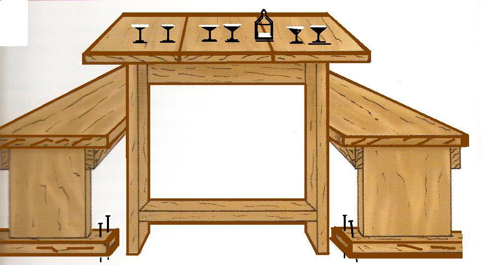 Lavori creativi fai da te l 39 hobby sul web come for Tavoli da giardino in legno rustici