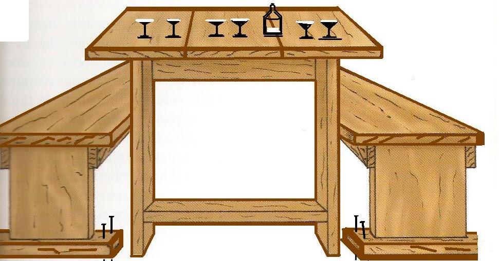 Costruire Tavolo Legno Rustico. Affordable Piano Tavolo In Legno ...