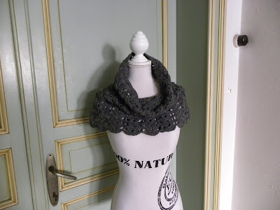 gehaakte schouderwarmer van DROPS Design by julienne-jeannot.blogspot.be