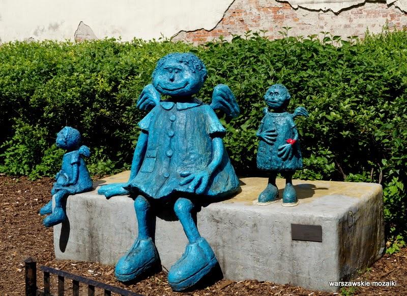 rzeźba Warszawa Praga