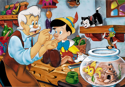 Geppetto and Pinocchio