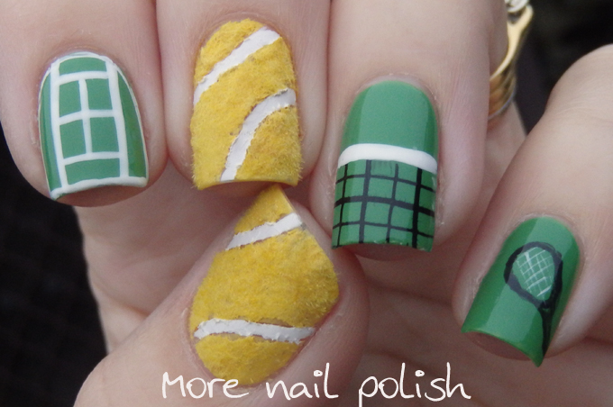 Anyone for tennis more nail polish you might also like prinsesfo Choice Image