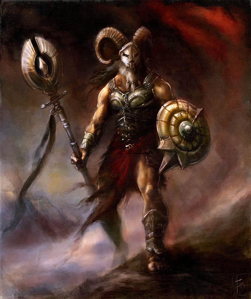 Image result for aries the warrior