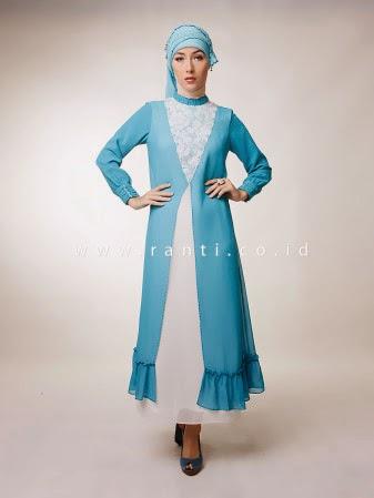 Model Gamis Muslim Terbaru