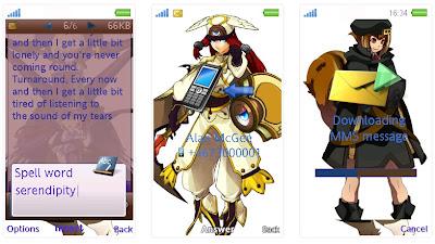 蒼翼默示錄SonyEricsson手機主題for Aino﹝240x432﹞