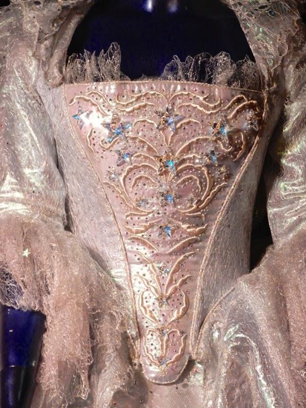 Fairy Godmother bodice detail Cinderella