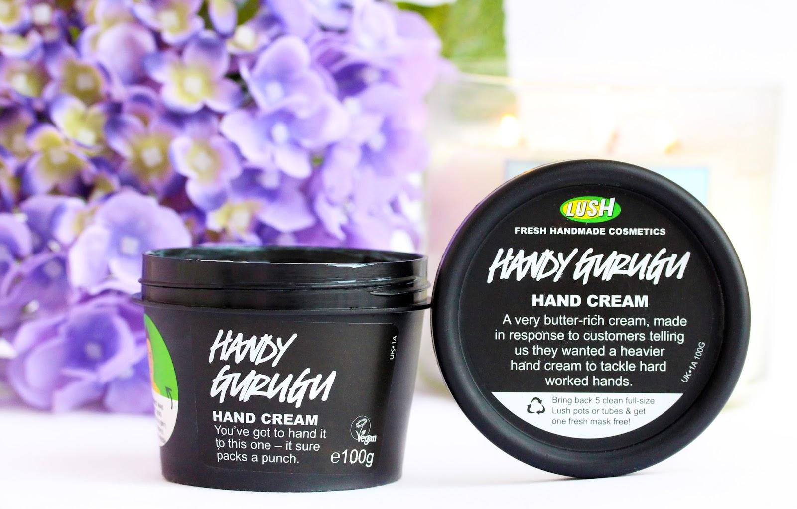 Lush Handy Gurugu Hand Cream