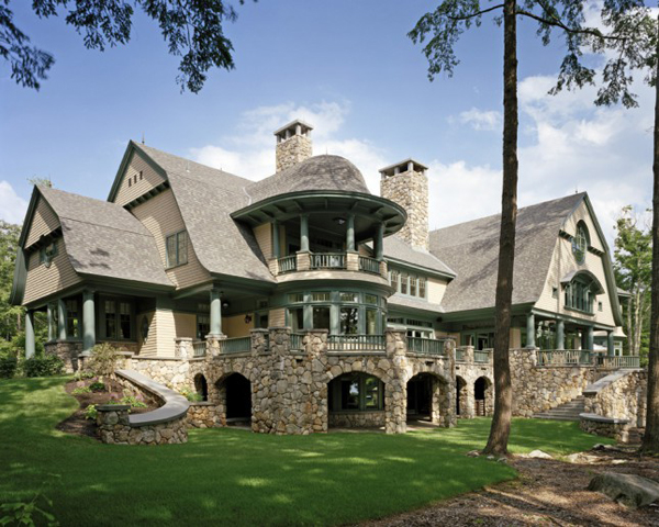 Eight bedroom beautiful house in new hampshire most for Home builders in nh