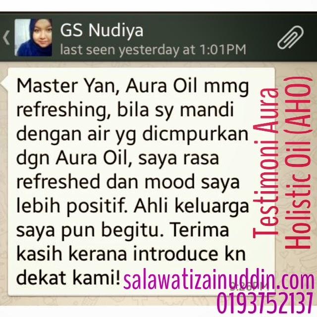 aho, aura holistic, aura holistic oil testimoni