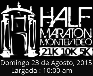 Half Maratón Montevideo (23/ago/2015)