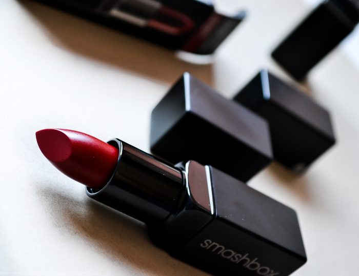 Smashbox Be Legendary Lipsticks - Infrared Matte Shock Me Pink Review Swatches Photos