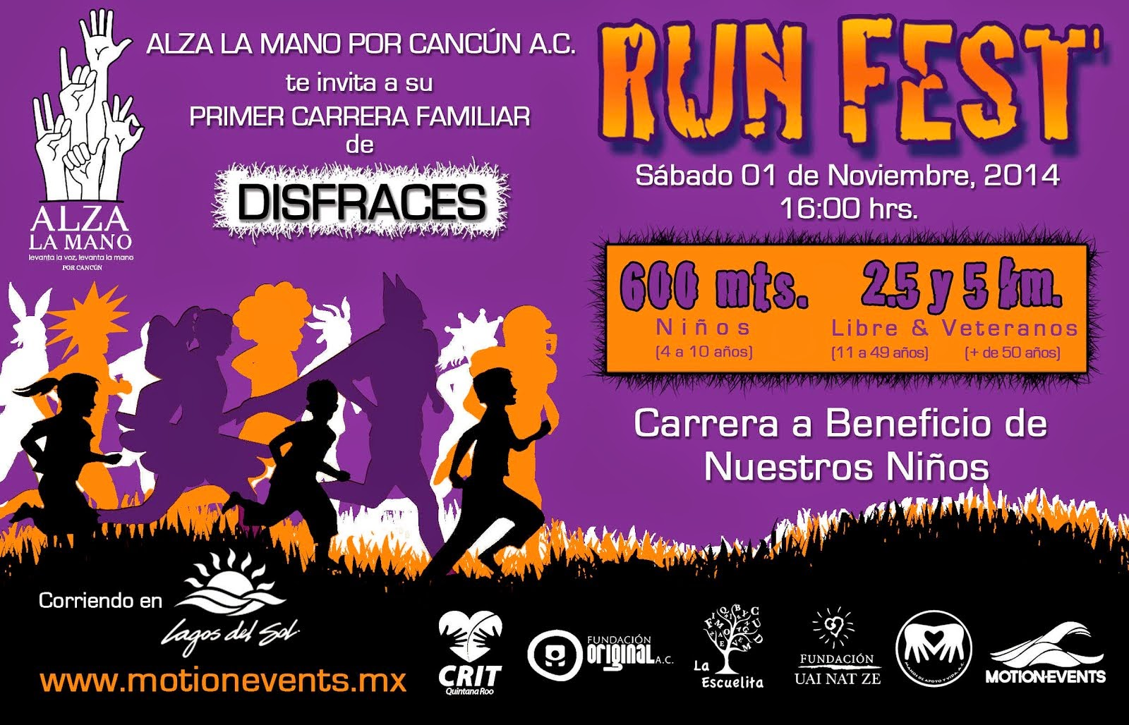 Run Fest Carrera de Disfraces