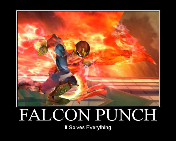 falcon punch by lobostylez
