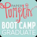 Paper Pumpkin Graduate