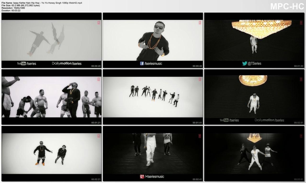 Issey Kehte Hain Hip Hop - Yo Yo Honey Singh 1080p WebHD