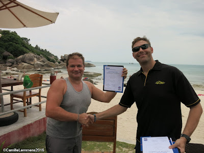 Testimonial from Simon Gurney of the June 2015 PADI IDC