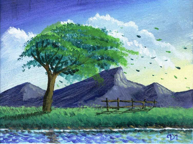 Explorando el mundo de los generos artisticos - Papel pintado paisaje ...