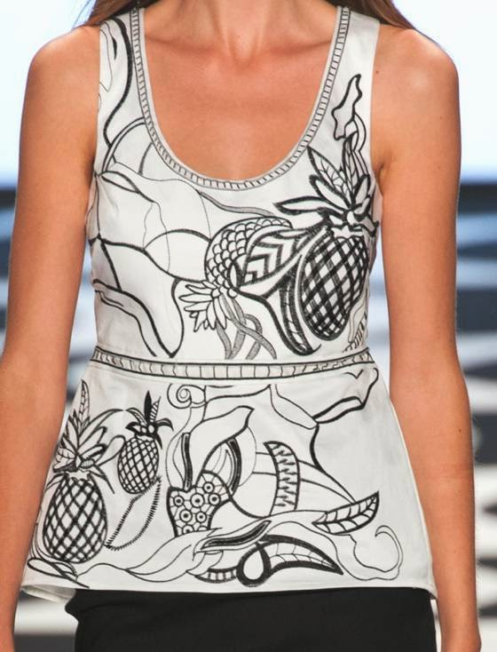 From new york fashion week woman collections spring summer 2015 13