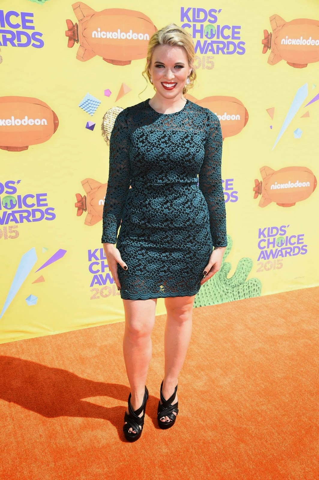Host, Beauty Expert @ Kristin Coleman At 2015 Nickelodeon Kids Choice Awards In Inglewood